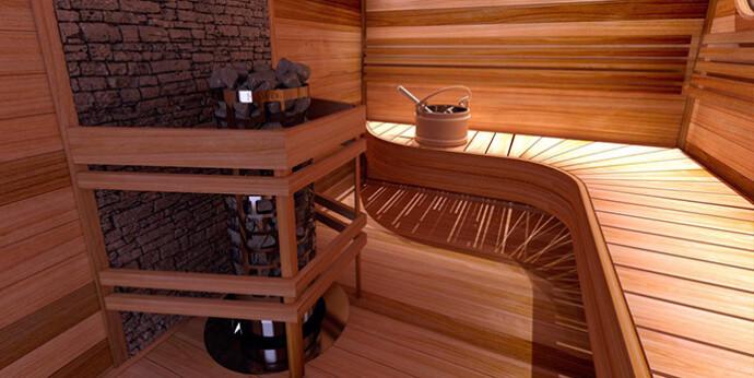 round aries interior 1 - Как правильно выбрать сауну