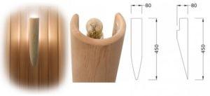 torcia 300x137 - Cветильники для сауны