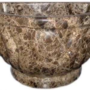 Курна TSL-3 Dark Brown Marble