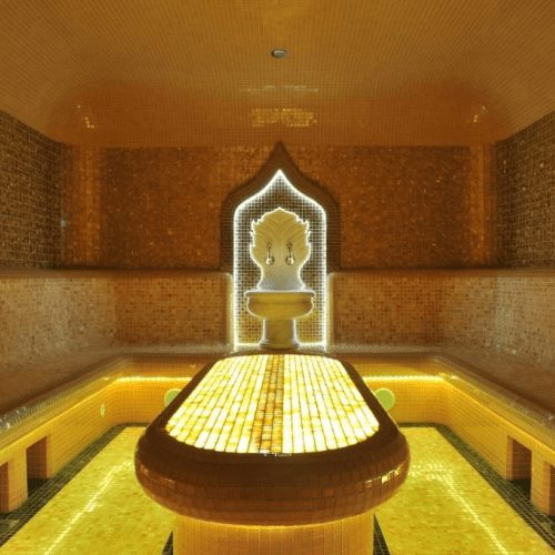Хамам и бассейн для похудения