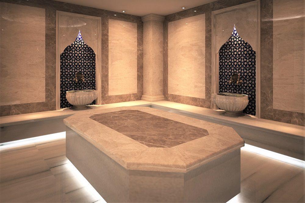 Турецкая баня хамам в Минске в SPA центре Riviera
