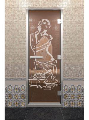 дверь в хамам с изображением