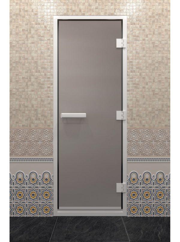 дверь в хамам сатин